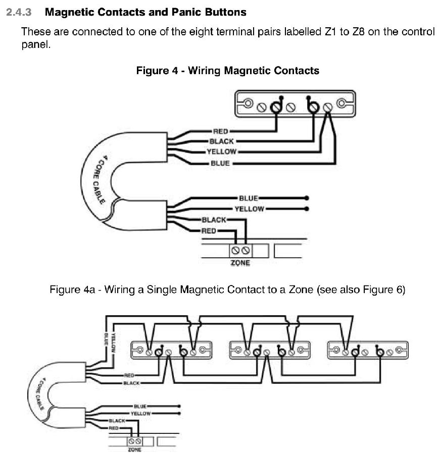 honeywell pir sensor wiring diagram 12v push switch alarm door contacts | screwfix community forum