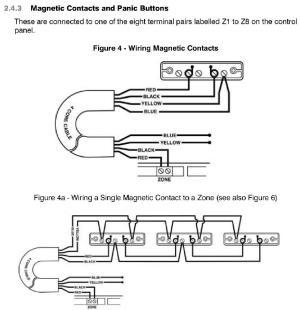 Alarm Door contacts Wiring | Screwfix Community Forum