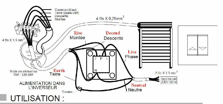 Somfy Blind Motor Wiring Diagram : 32 Wiring Diagram