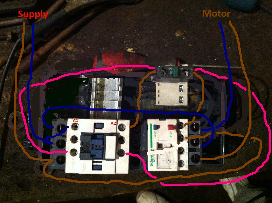 Phase Contactor Wiring Diagram Likewise 240v Single Phase Wiring