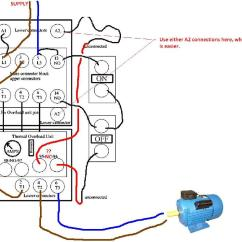 3 Phase Motor Dol Starter Wiring Diagram Ford Diagrams F150 Ask The Trades - Connection Advise Please 1ph 240v