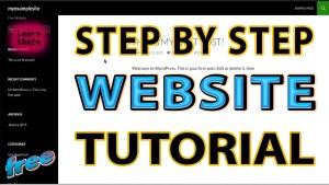 make free professional wordpress site