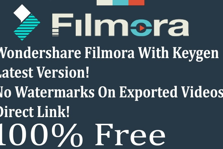 Filmora 8.5 free download crack