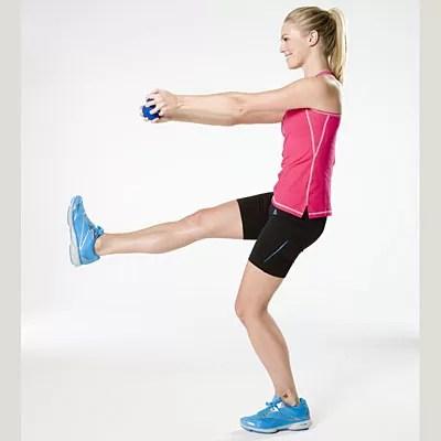 Single-Leg Front Raises
