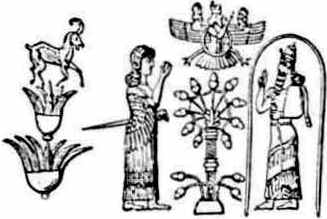 Adam and Eve with Tree of Life?