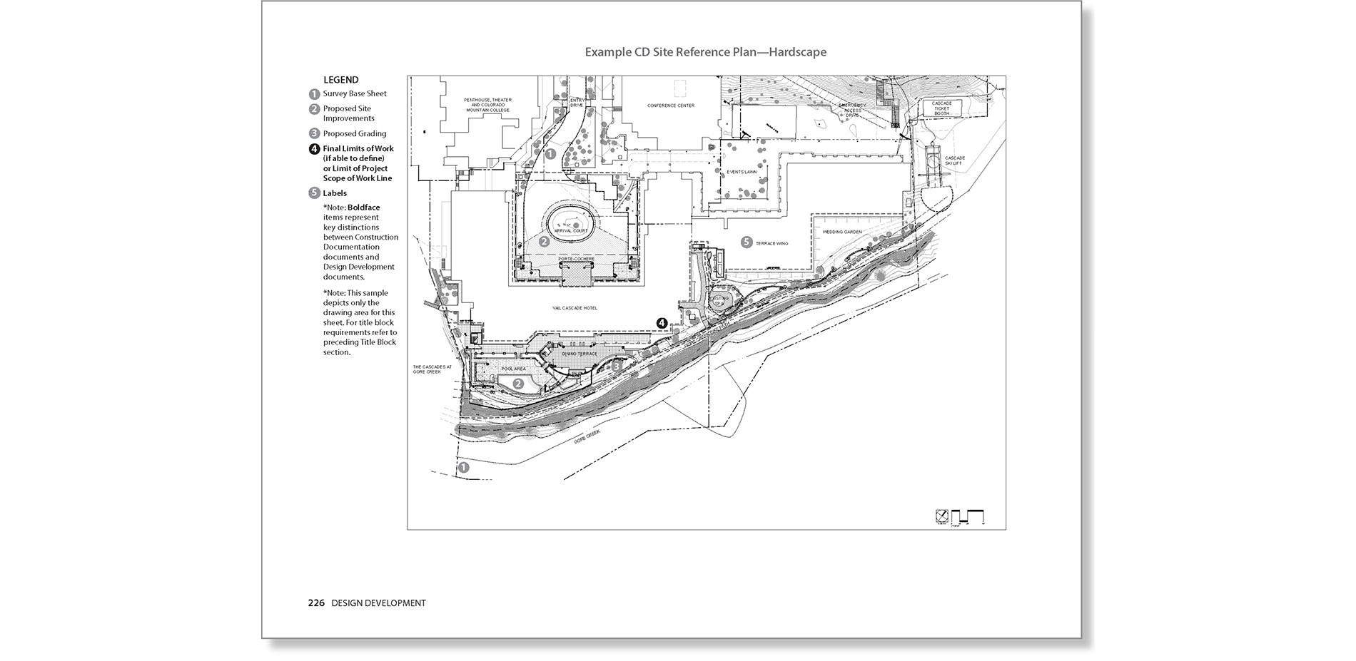 hight resolution of site reference plan example