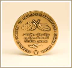 the asla design medal