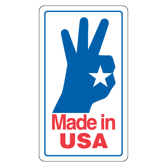 Made in USA OK Label
