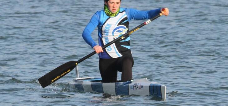 Ombeline Dhé, 6e des championnats d'Europe en C2