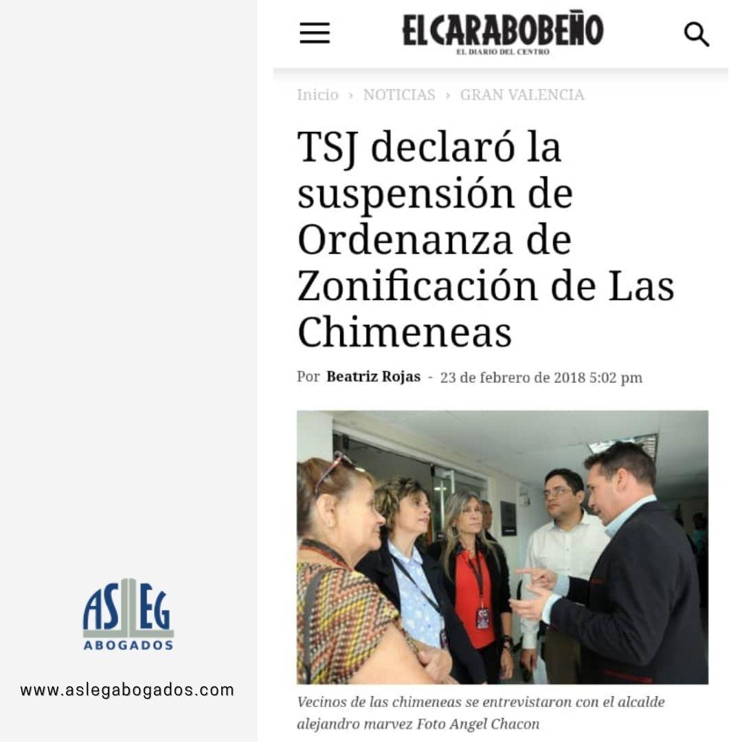 TSJ declaró nulidad de ordenanza de rezonificación de Las Chimeneas
