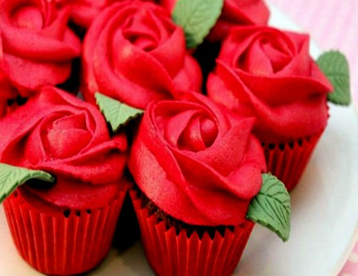 Valentine's Day Cupcake Designs