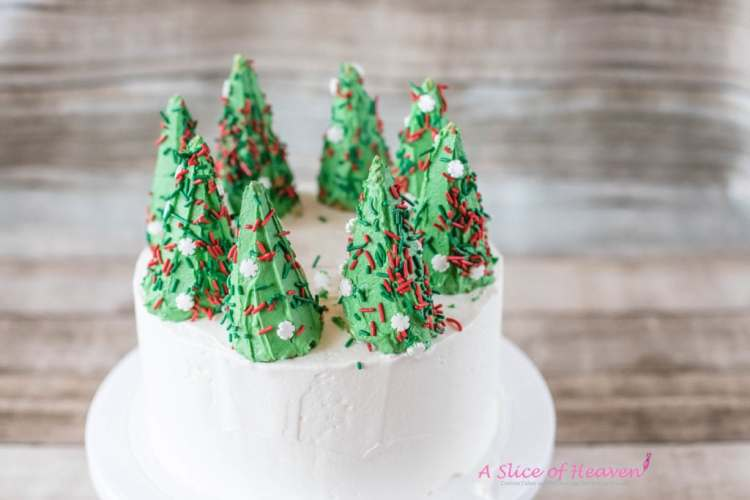 All trees on the cake