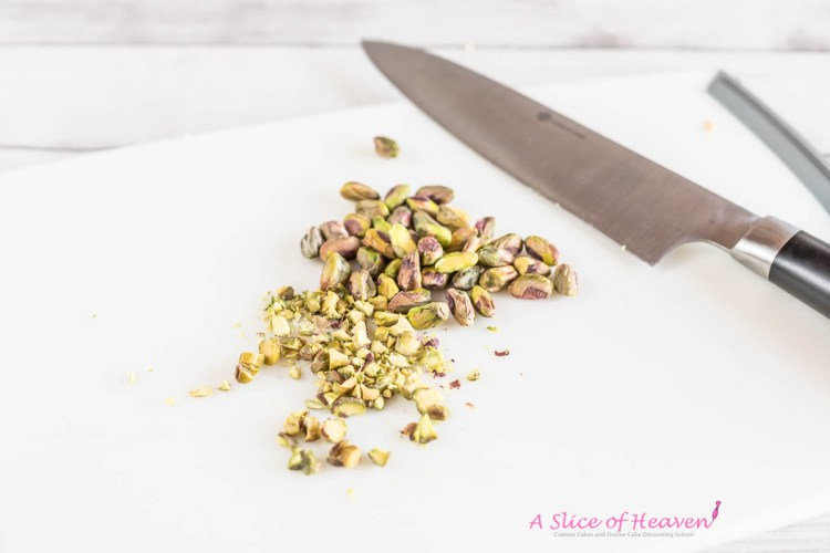 Chopped pistachios | A Slice of Heaven