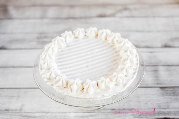 A ready meringue crust | A Slice of Heaven