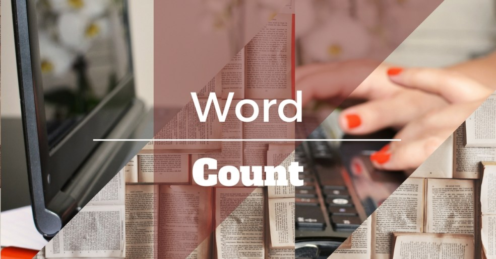 Word Count | Veronica Jorge | A Slice of Orange