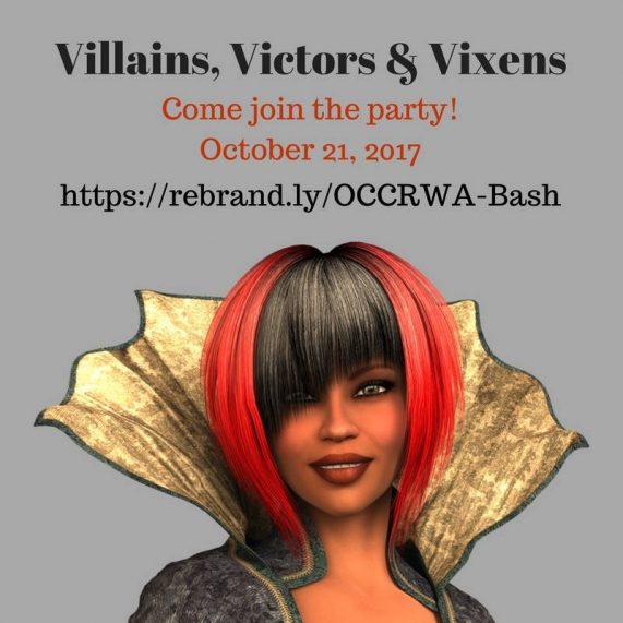 Villians, Victors & Vixens: OCC/RWA's Birthday Bash   A Slice of Orange