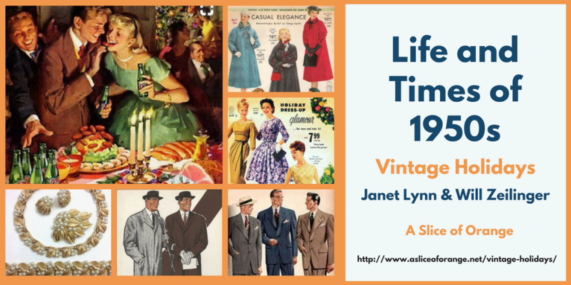 Vintage Holidays | Janet Lynn and Will Zeilinger | A Slice of Orange