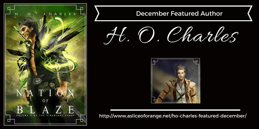 H. O. Charles |Featured Author | A Slice of Orange
