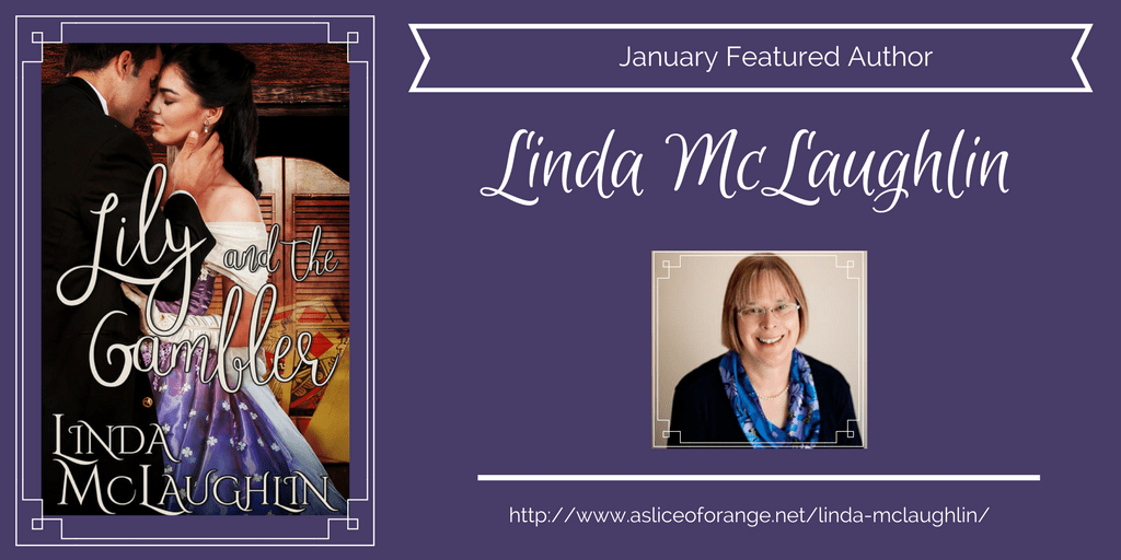 Linda McLaughlin | Featured Author | A Slice of Orange