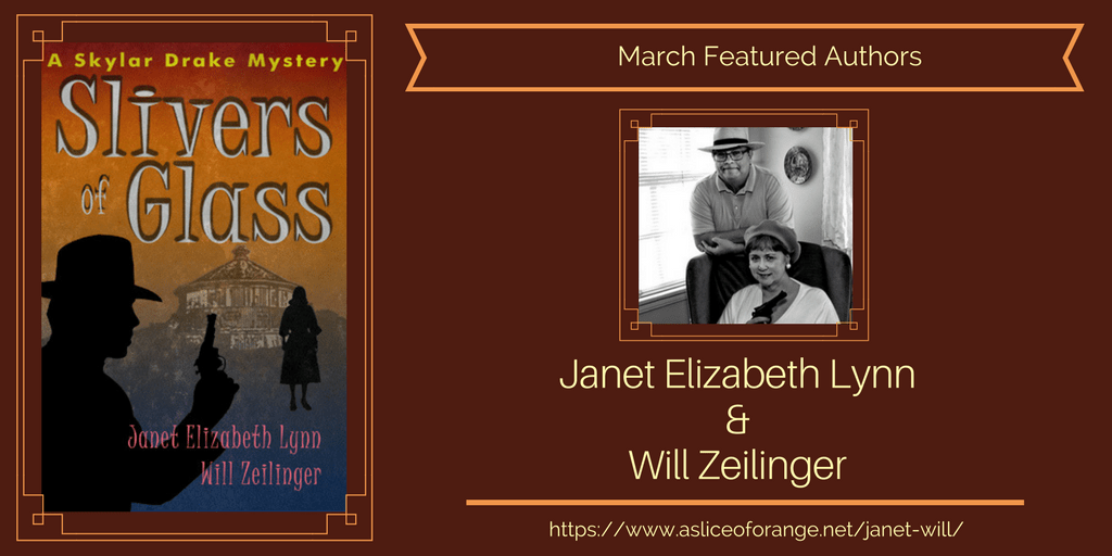 Janet & Will | March Featured Authors | A Slice of Orange
