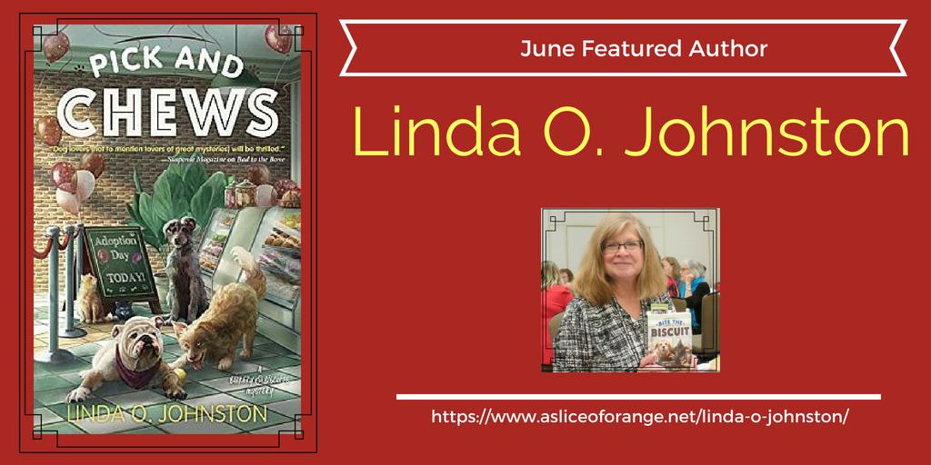 Linda O Johnston |Featured Author | A Slice of Orange