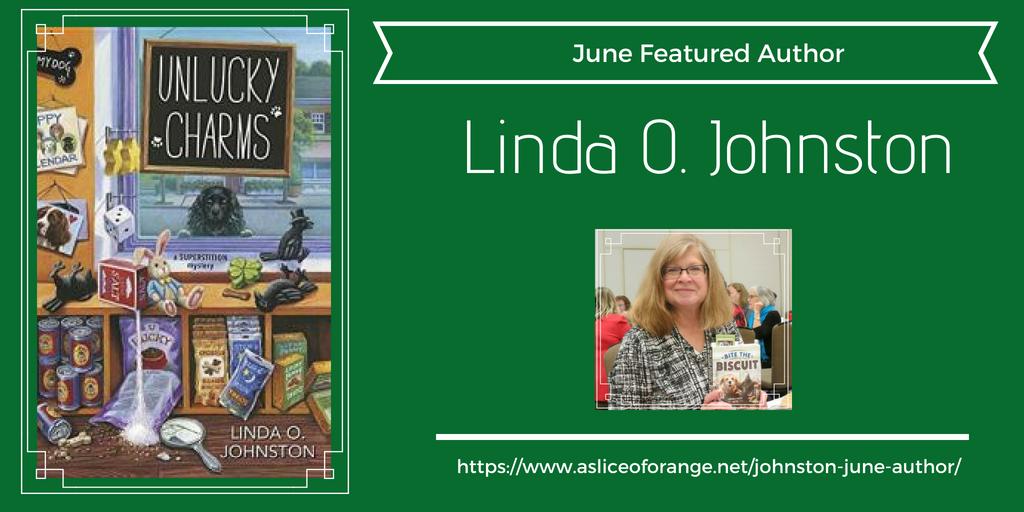 Johnston | June Author | A Slice of Orange
