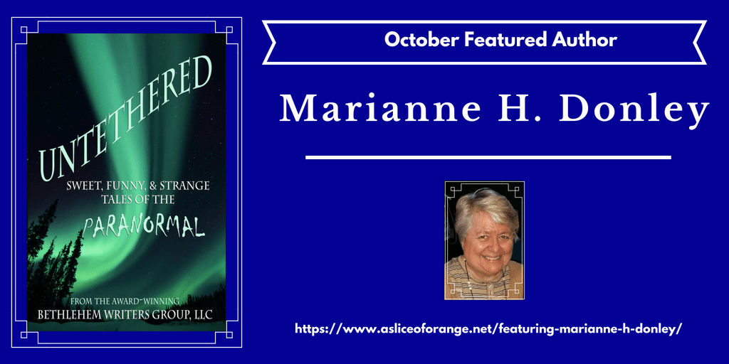 featuring marianne h donley | featured author of the month | A Slice of Orange