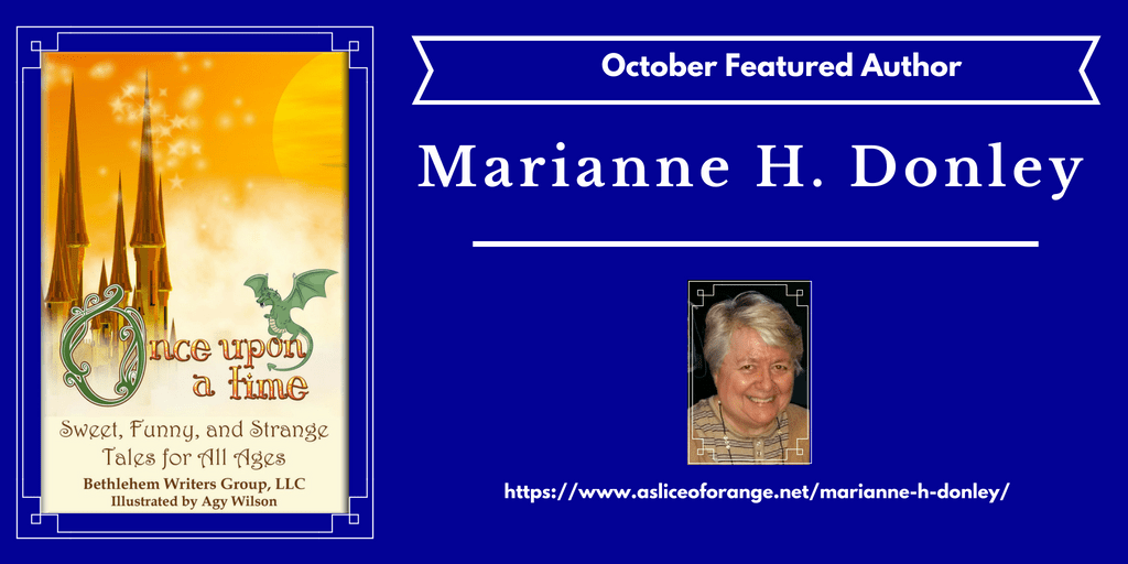 marianne h donley | Featured Author | A Slice of Orange
