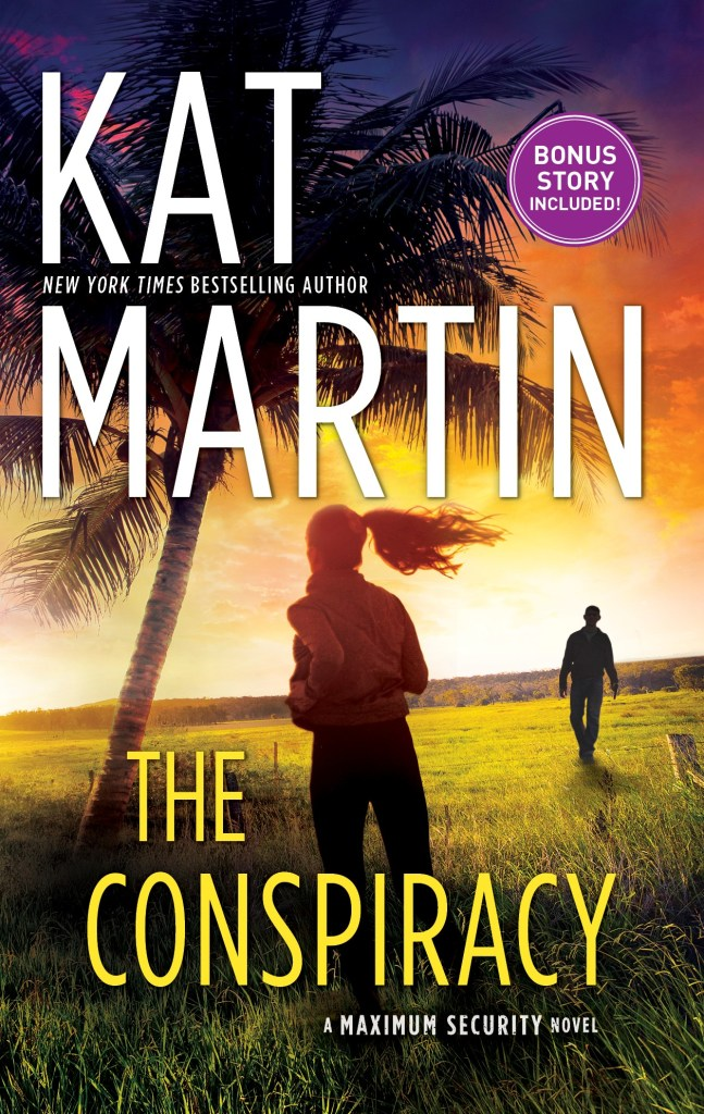 The cover to Kat Martin's The Conspiracy