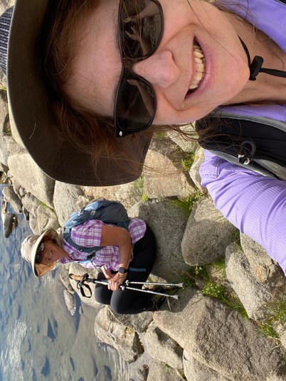 Denise M. Colby stepped out of her comfort zone and challenged herself by driving to Mammoth to camp with her sister and hiked Sherwin Lake Trail at 8,269 feet