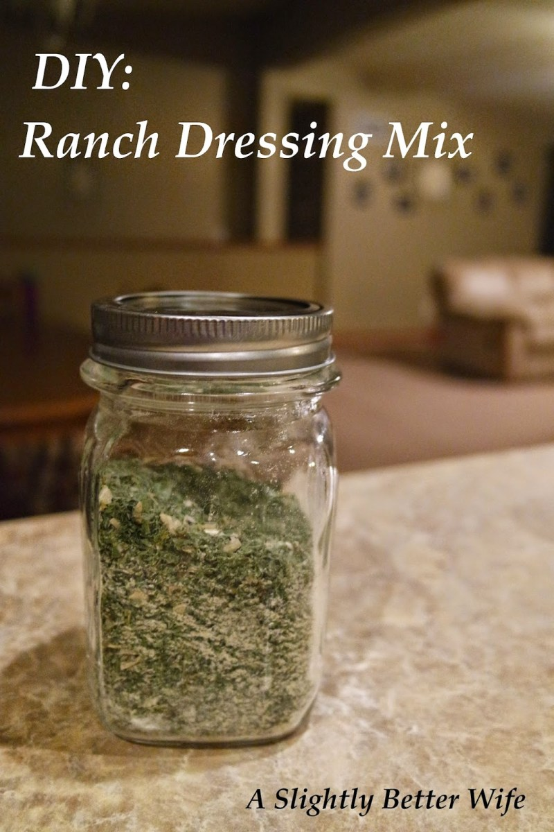 In The Kitchen: Homemade Ranch Dressing Mix