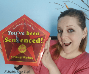 Homeschool Fun Friday:  You've Been Sentenced! Game Review