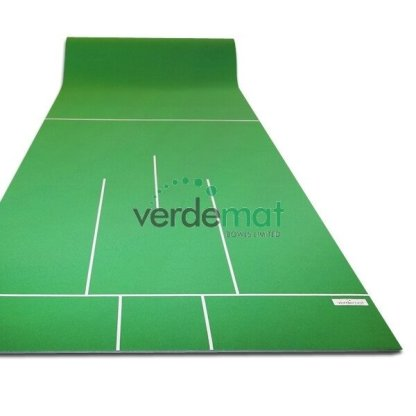 Short Indoor Bowls Mat (Verdemat Medium)