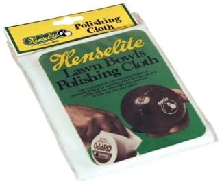 Henselite Bowls Polishing Cloth