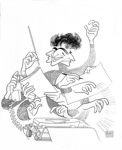 The Line King's Library: Al Hirschfeld at the New York