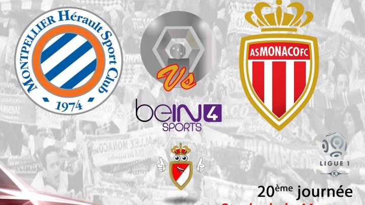 Montpellier-Monaco: Les compositions