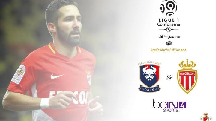 [L1J36] Caen – AS Monaco (1-2)