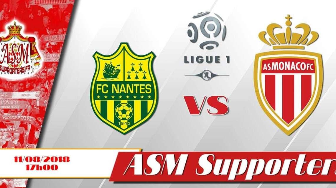 Nantes – Monaco : les compositions probables