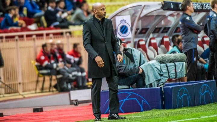 Monaco-Bruges : Henry déplore le manque de réalisme