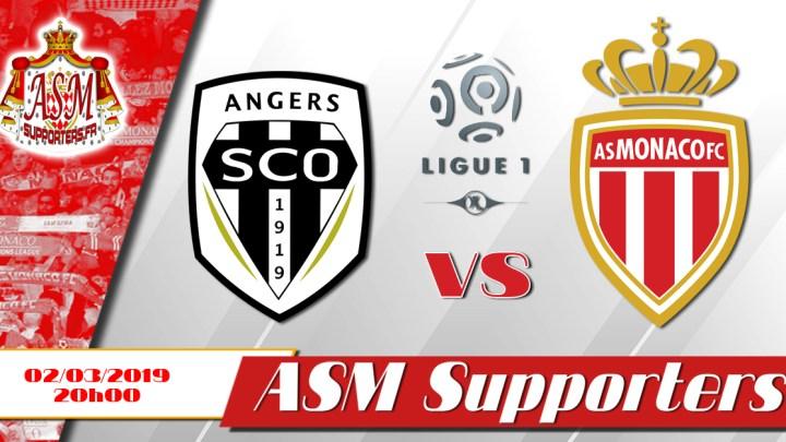 Monaco fait match nul (2-2) à Angers