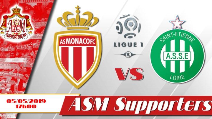 Monaco s'incline face à Saint-Étienne