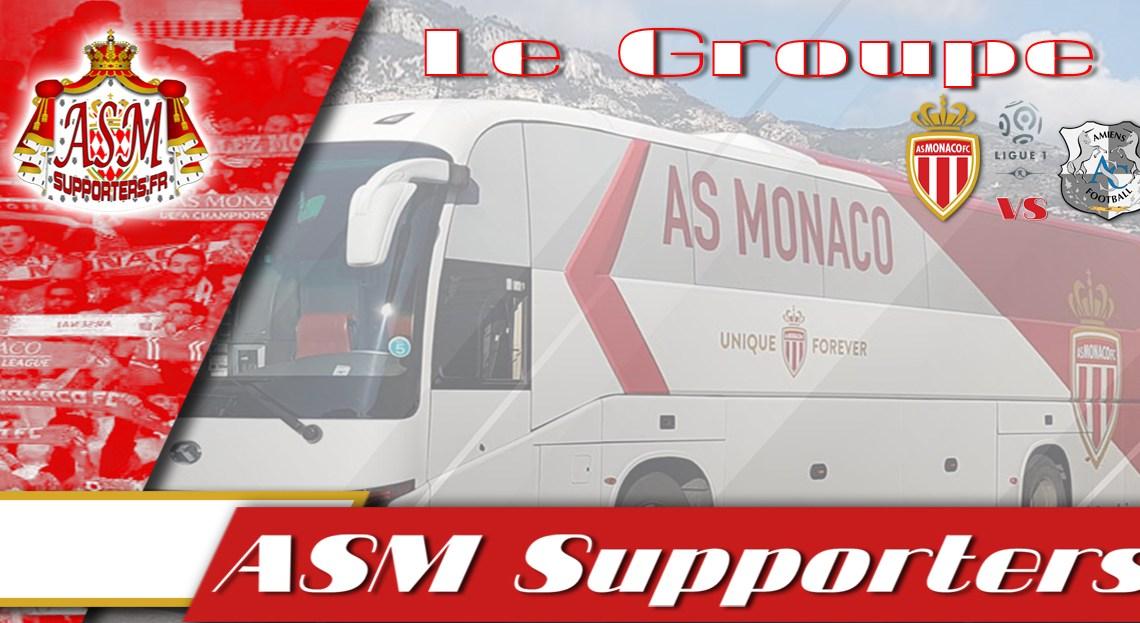 Monaco-Amiens : Le groupe Monégasque