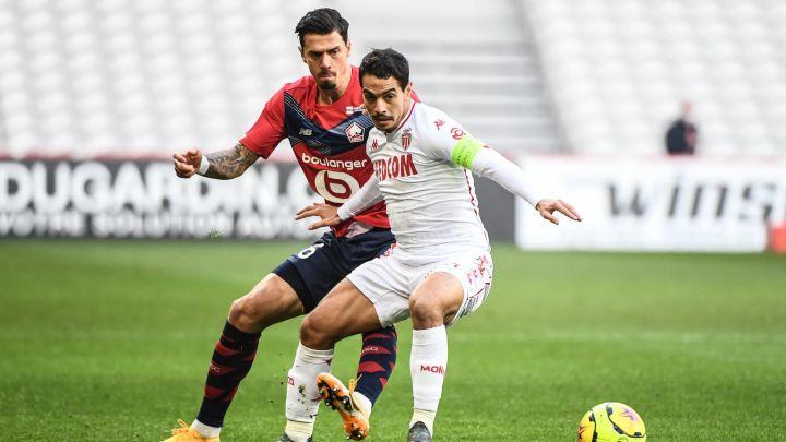 Monaco s'incline à Lille (2-1)