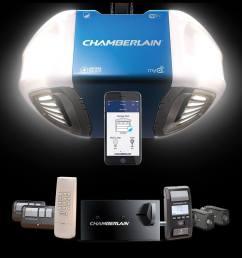 chamberlain ultimate security bundle increases garage security [ 2064 x 1262 Pixel ]