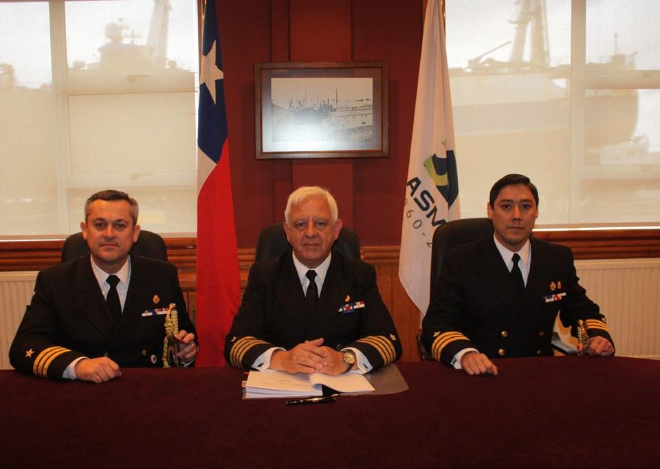 Cambio de mando de ASMAR Magallanes