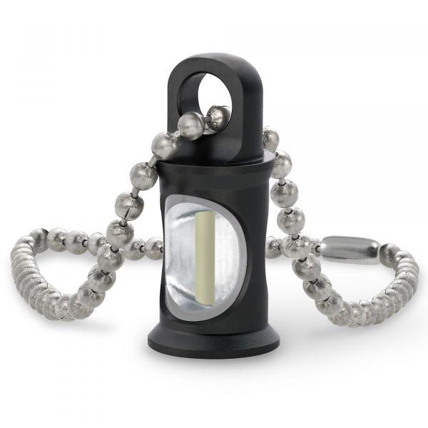 khs pendentif trigatag avec chainette porte cle noir