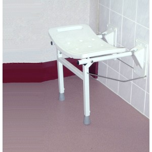 plastic molded chairs card table and costco elgin wall mounted shower seat with support legs - asm medicare