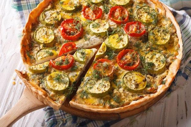 Rezept Gemüse-Quiche