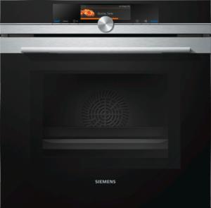 SIEMENS Backofen mit Mikrowelle HM678G4S1 (Bild von siemens.de)