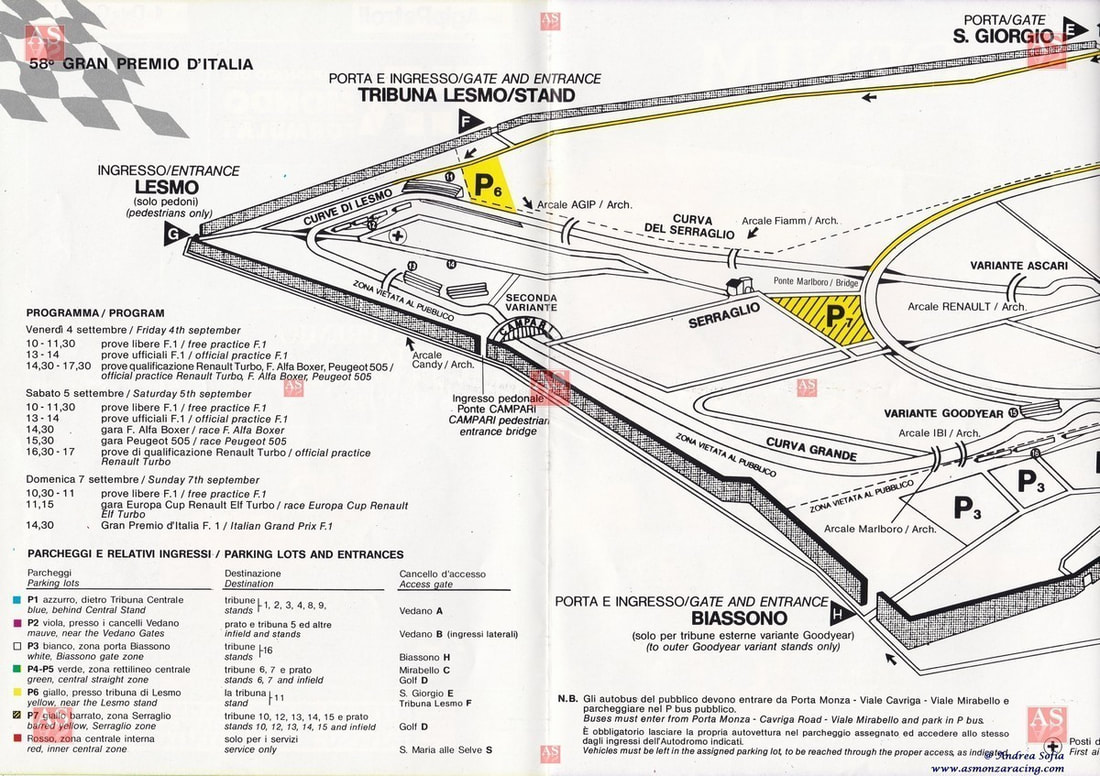 Gran Premio D Italia Formula 1 Monza 6 Settembre Eng